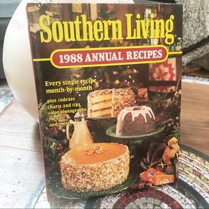 Vintage 1988 Southern Living Annual Recipes Book